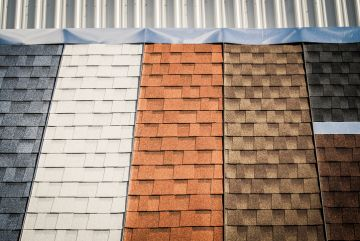 Shingle roofs by Homeward Roofing & Exteriors